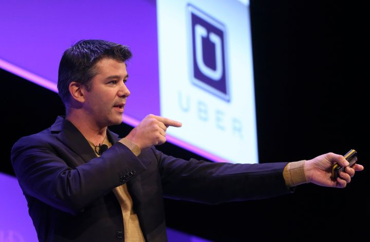 Uber founder and CEO Travis Kalanick said on Wednesday that he would one day like to see everycar in San Francisco be&n