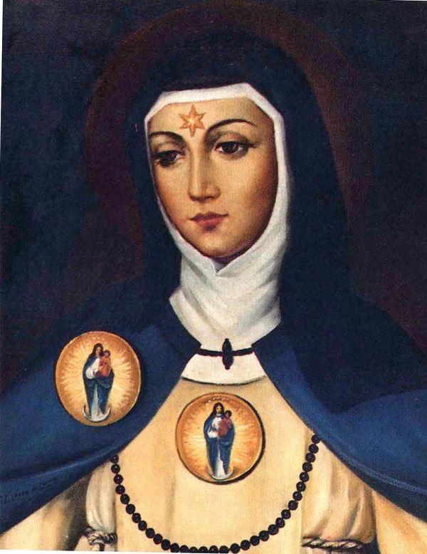 "Born in 1424, <a href=""https://books.google.com/books?id=ZXWRgP-0KBkC&pg=PA33&lpg=PA33&dq=saint+beatrice+of+silva"