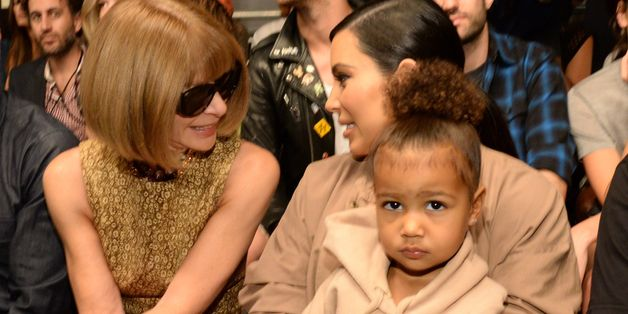 North West Stole The Show At The Yeezy Spring 2016 Presentation