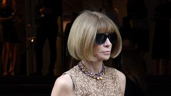 NEW YORK, NY - SEPTEMBER 17:  Vogue editor-in-chief and Conde Nast artistic director Anna Wintour is seen leaving the J.Crew presentation during New York Fashion Week: The Shows at Skylight, Clarkson Sq on September 17, 2015 in New York City.  (Photo by Vivien Killilea/Getty Images for NYFW: The Shows)