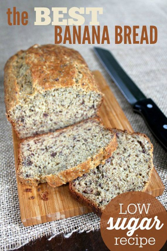 "<strong>Get the <a href=""http://www.frugallivingnw.com/best-banana-bread-recipe/#_a5y_p=3076389"" target=""_blank"">Low-Sugar Ba"