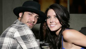 (EXCLUSIVE, Premium Rates Apply) LOS ANGELES - MAY 20:  (***EXCLUSIVE***)   Justin Bobby and Audrina Patridge at the Dolce Five Year Anniversary Party  at Dolce on May 20, 2008 in Los Angeles, California.   (Photo by Todd Williamson/WireImage)