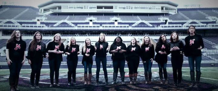"Female a cappella group Note-oriety nails Beyonce's ""Pretty Hurts."""