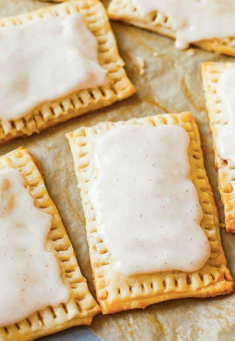 "<strong>Get the <a href=""http://sallysbakingaddiction.com/2014/09/03/homemade-frosted-brown-sugar-cinnamon-pop-tarts/"" target"