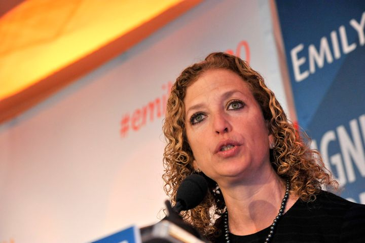DNC Chair Debbie Wasserman Schultz defended the Democrats' debate schedule, which critics within the party say unfairly bene