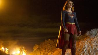 Melissa Benoist in 'Supergirl.'