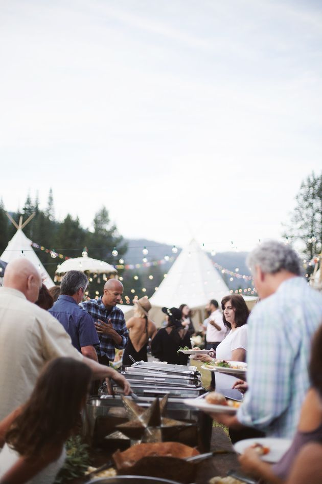 This Rad Couple Had A Music Festival Wedding In The Middle Of