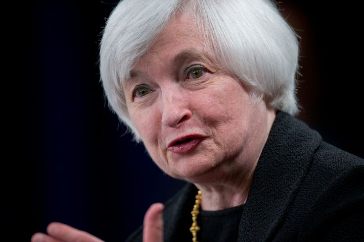 Fed Chair Janet Yellen addressed the prospect of a government shutdown at a Thursday press conference on the Fed's decision t