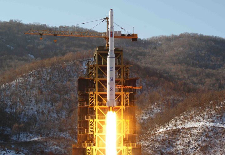 North Korea launched a satellite carried on a long-range rocket in Dec. 2012, causing international condemnation.
