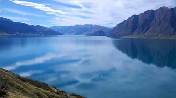 """This is Lake Wanaka in New Zealand, where I pilgrimaged for re-grounding after a very chaotic and emotional period of my lif"