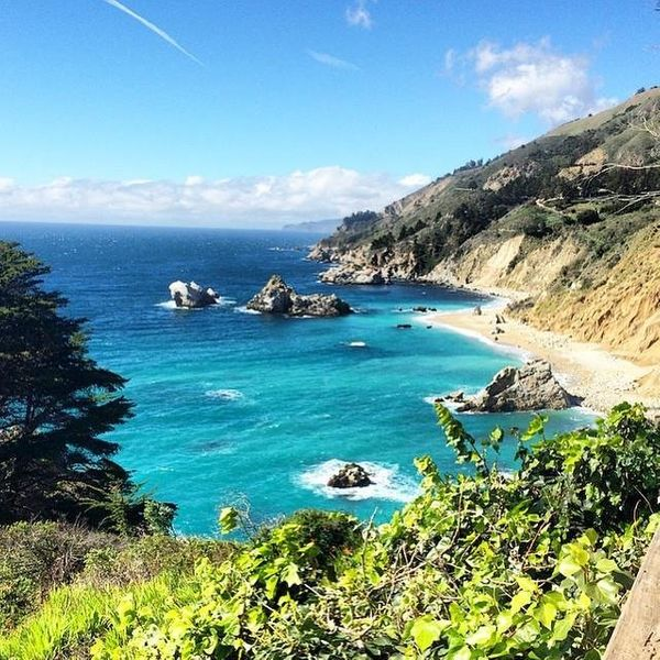 """Big Sur was very spiritual. You feel so secluded from the default world and connected to some of the most spectacular views"