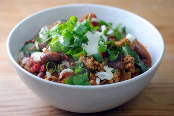 """<strong>Get the <a href=""""http://food52.com/recipes/11847-best-ever-turkey-chili"""" target=""""_blank"""">Best Ever Turkey Chili recip"""