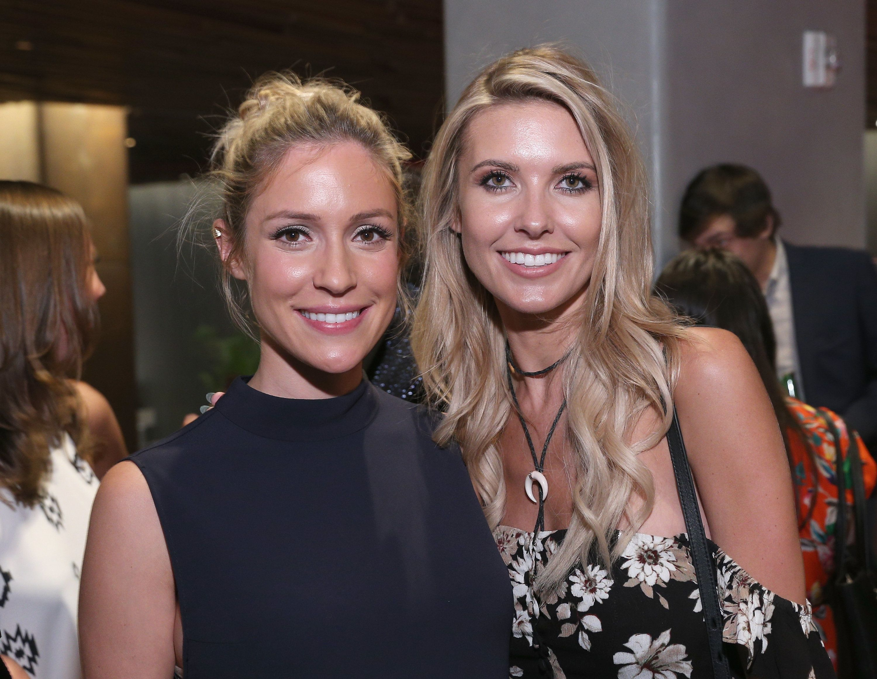 NEW YORK, NY - SEPTEMBER 17:  Kristin Cavallari and Audrina Patridge attend as KIA STYLE360 Hosts Kristin Cavallari By Chinese Laundry At Row NYC on September 17, 2015 in New York City.  (Photo by Thomas Concordia/WireImage for STYLE360)