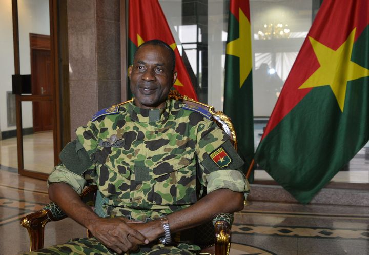Gen. Gilbert Diendere was named leader of the military junta on Thursday.