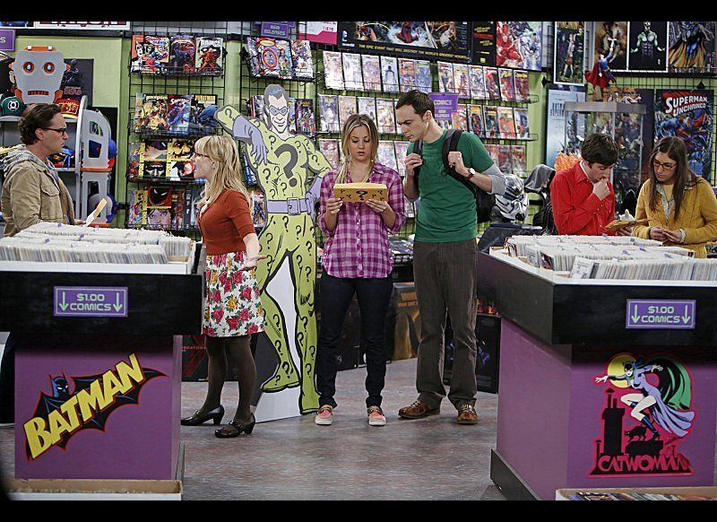 Analysis Of Living Room In Big Bang Theory