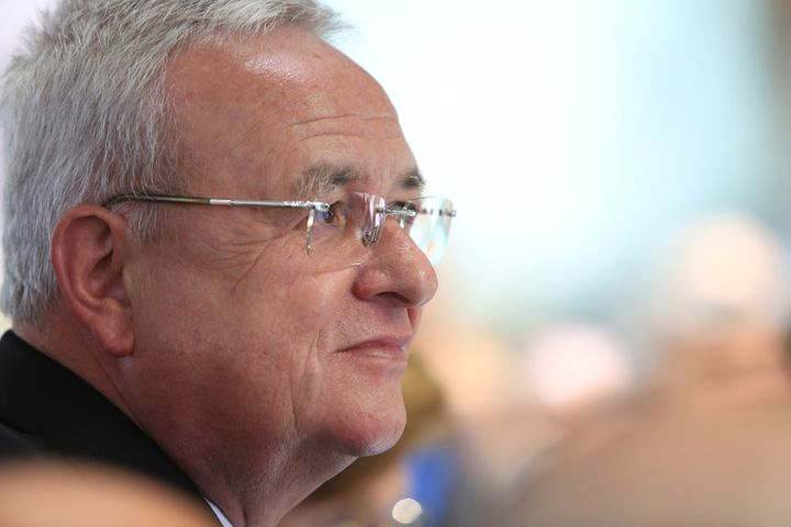 Martin Winterkorn, CEO of Volkswagen AG at the Frankfurt Motor Show on September 15, 2015. The executive could face prosecuti