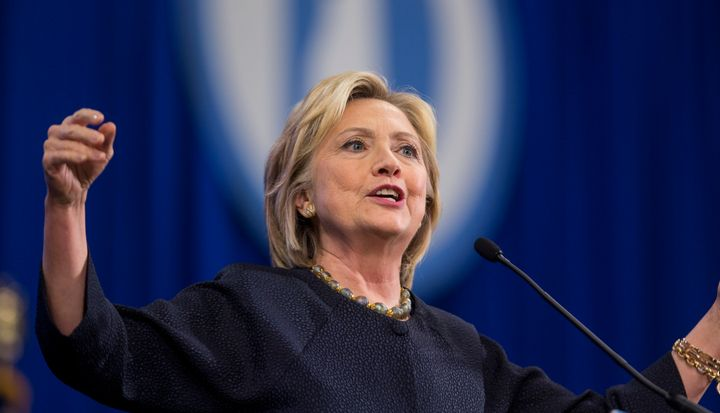 Hillary Clinton says she wants the campaign for president to be about ideas and policies.