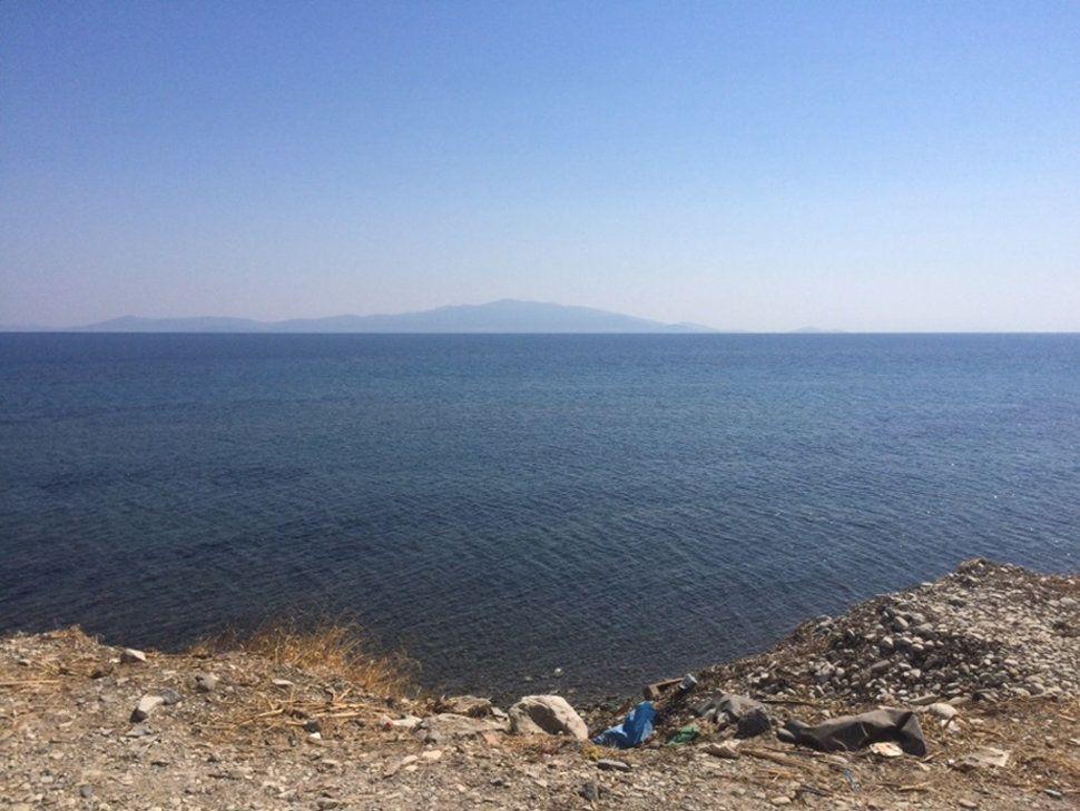 """The water we crossed looks like the Black Sea or the Mediterranean Sea."""
