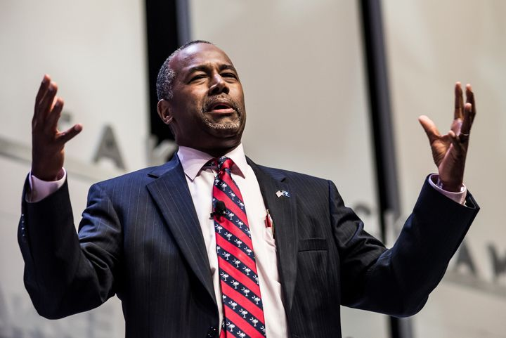 "Neurosurgeon Ben Carson, who is running for president, ""would not advocate that we put a Muslim in charge of this nation."""