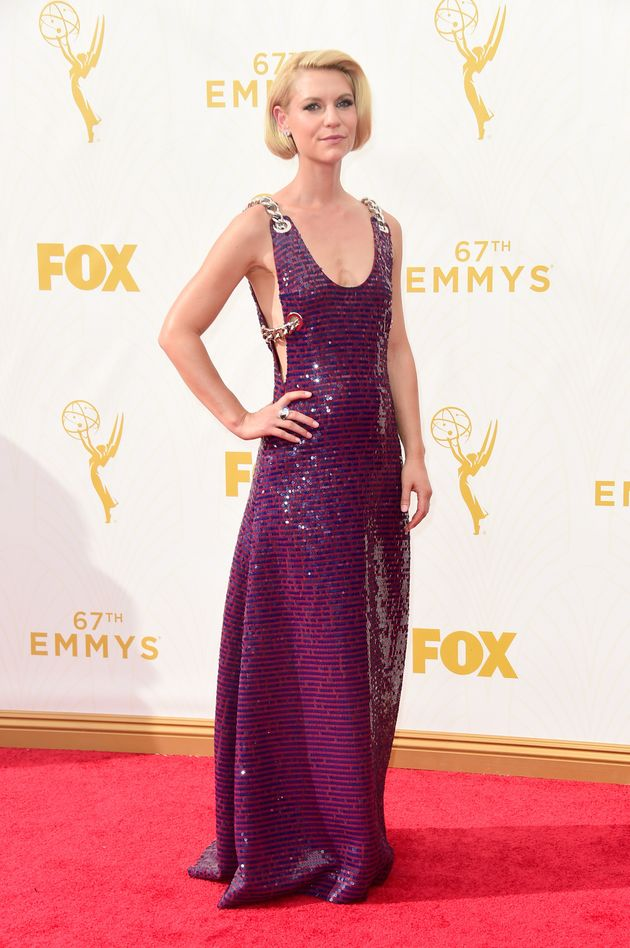 Claire Danes in Prada (2015 Emmy's)