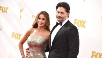 LOS ANGELES, CA - SEPTEMBER 20:  Actress Sofia Vergara (L) and actor Joe Manganiello attend the 67th Annual Primetime Emmy Awards at Microsoft Theater on September 20, 2015 in Los Angeles, California.  (Photo by John Shearer/WireImage)