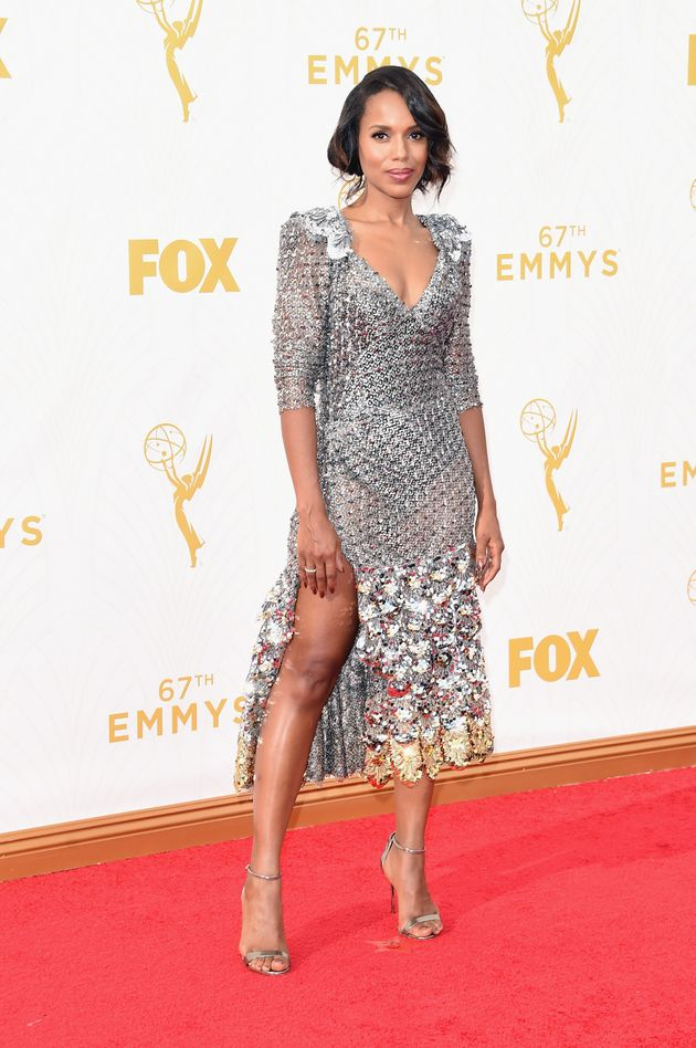 Kerry Washington in Marc Jacobs (2015 Emmy's)
