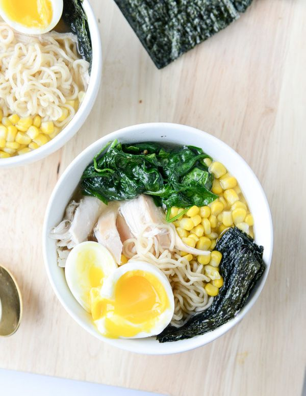 "<strong>Get the <a href=""http://www.howsweeteats.com/2014/09/roasted-chicken-ramen/"" target=""_blank"">Roasted Chicken Ramen re"