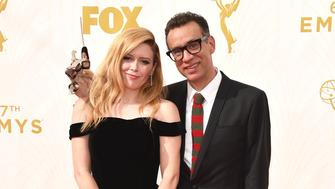 LOS ANGELES, CA - SEPTEMBER 20:  Actors Natasha Lyonne (L) and Fred Armisen attend the 67th Annual Primetime Emmy Awards at Microsoft Theater on September 20, 2015 in Los Angeles, California.  (Photo by John Shearer/WireImage)
