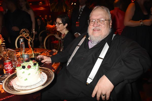 Writer George R. R. Martin attends HBO's Official 2015 Emmy After Party at The Plaza at the Pacific Design Center on Sept. 20