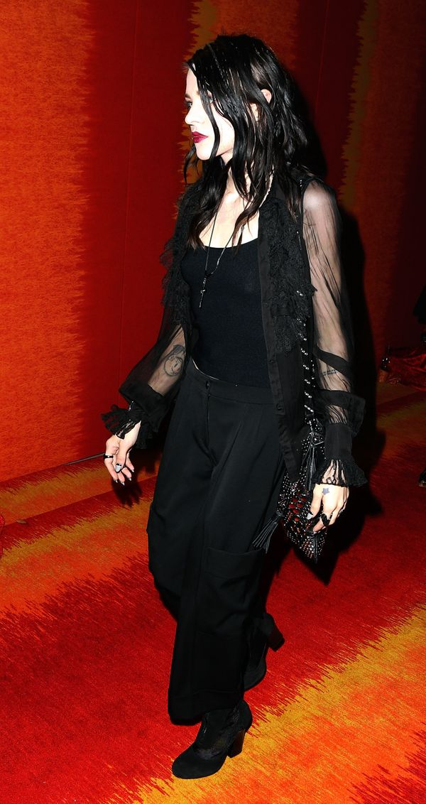 Visual artist Frances Bean Cobain attends HBO's Official 2015 Emmy After Party at The Plaza at the Pacific Design Center on S