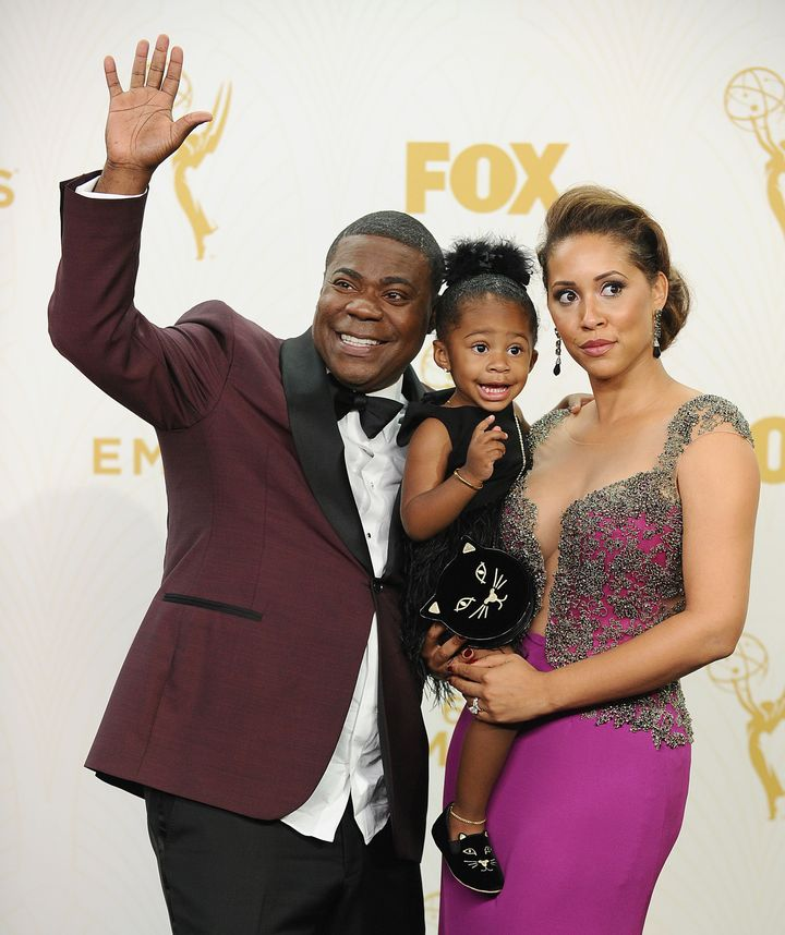tracy morgan 39 s daughter was too cute for words at the. Black Bedroom Furniture Sets. Home Design Ideas