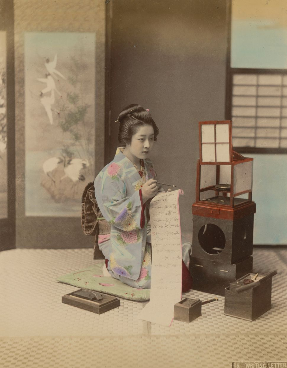 Color in japanese art - From The Late 19th Century To The Early 20th Century Japanese Photographers Were Doing Amazing Things With Color
