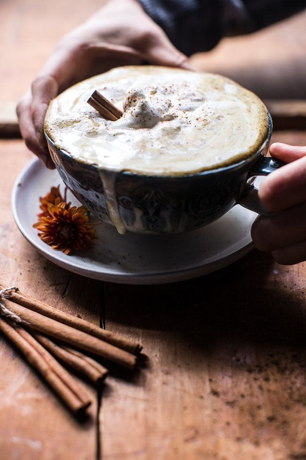"<strong>Get the <a href=""http://www.halfbakedharvest.com/coconut-pumpkin-spice-latte/"" target=""_blank"">Coconut Pumpkin Spice"