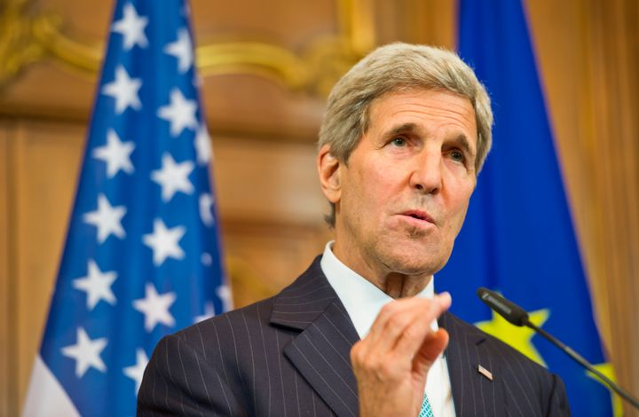 Secretary of State John Kerry said the U.S. will increase the number of refugees it admits to 100,000 by 2017.