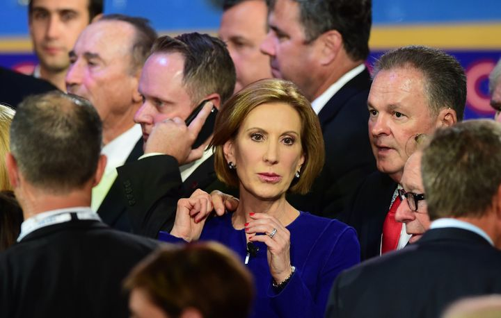 Former HP CEO Fiorina was the first woman to ever lead a Fortune 20 company.