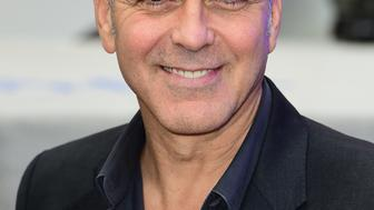 George Clooney arrives for the premiere of Tomorrowland: A World Beyond, at the Odeon Leicester Square, London.PRESS ASSOCIATION Photo. Picture date: Sunday May 17, 2015. See PA story SHOWBIZ Clooney. Photo credit should read: Ian West/PA Wire