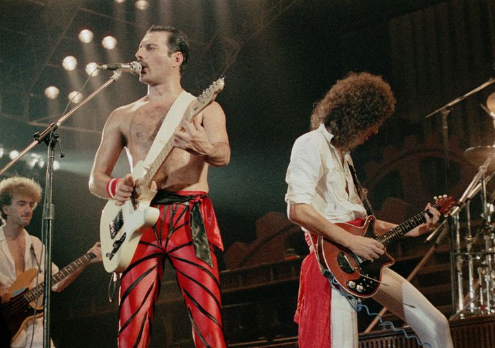 "Survey finds that Queen's 1970s hit ""Don't Stop Me Now"" is the most popular feel-good song."