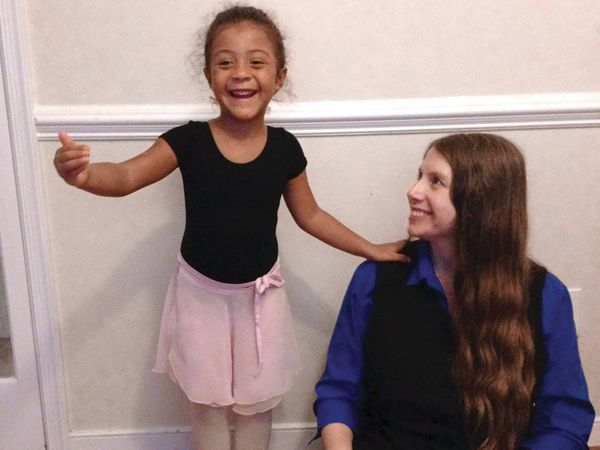 elissa Baker: Surprised my angel with princess ballet lessons... just another day with HIV.