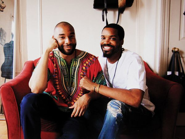 Ken Williams (left): I work pretty hard to eradicate HIV stigma. I write, I blog, but there's been nothing I've d