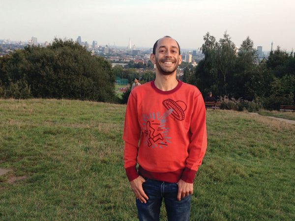 Anthony Babajee: At Parliament Hill, one of the best views of London.<span></span>