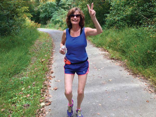Barbara Lagodna: At age 60, running keeps me healthy and fit!