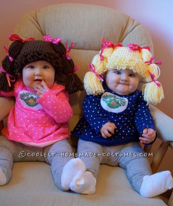 Halloween Costume Twins Double Fun