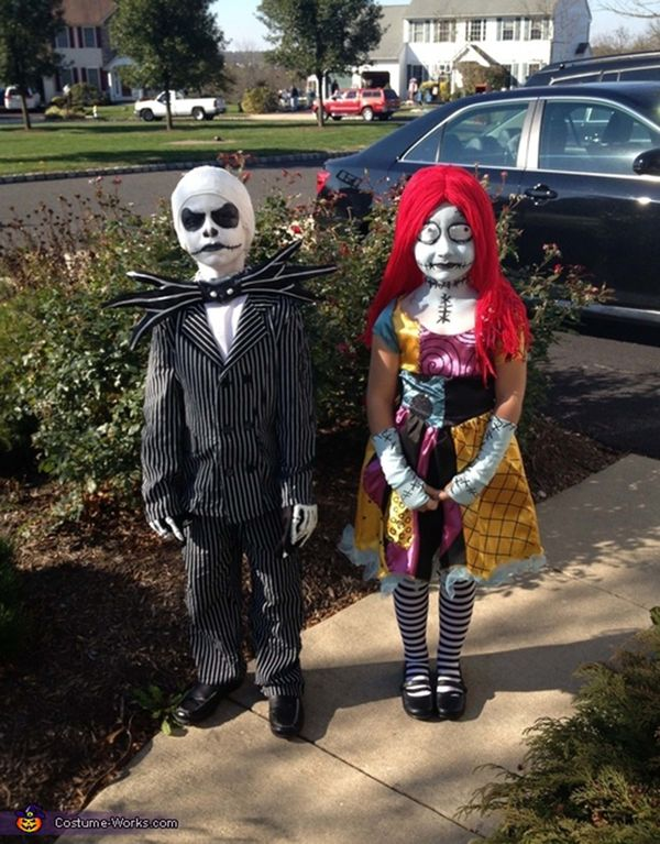 12 jack and sally - Halloween Jack Costume