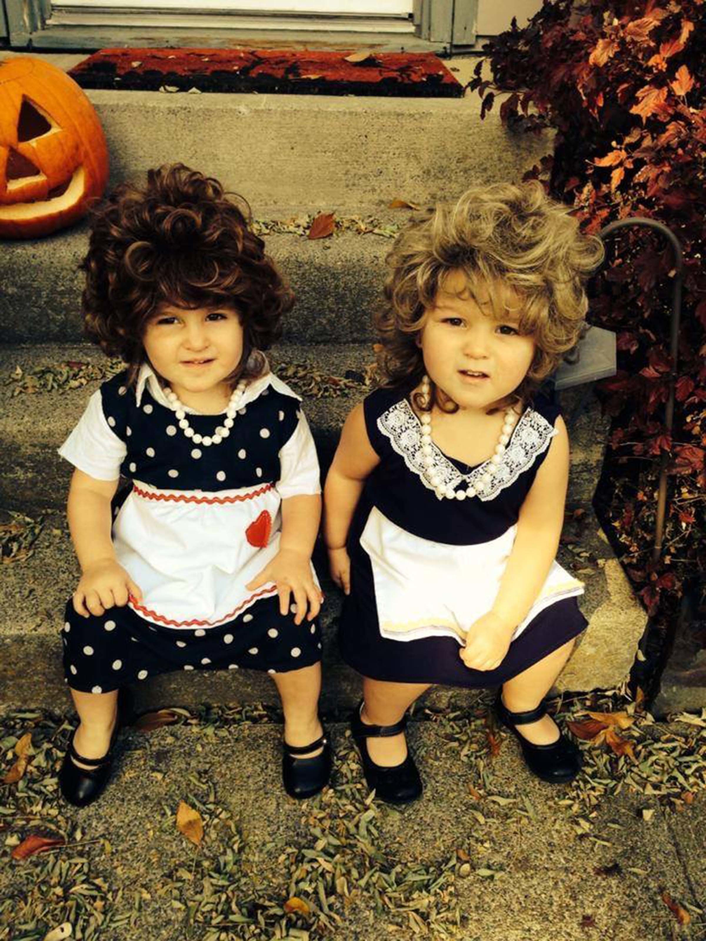 Courtesy of Brooke Barner  sc 1 st  HuffPost & 22 Halloween Costume For Twins That Are Double The Fun | HuffPost