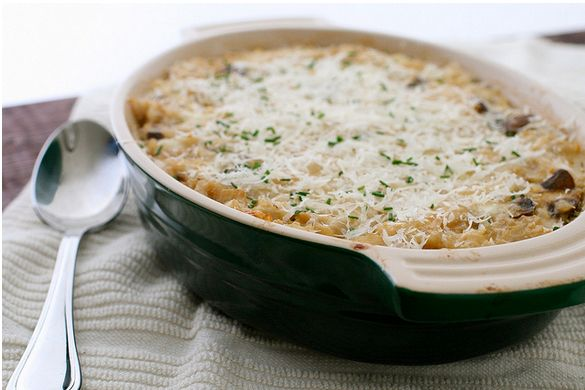 """<strong>Get the <a href=""""http://www.annies-eats.com/2011/11/16/mushroom-and-brown-rice-casserole/"""" target=""""_blank"""">Mushroom A"""