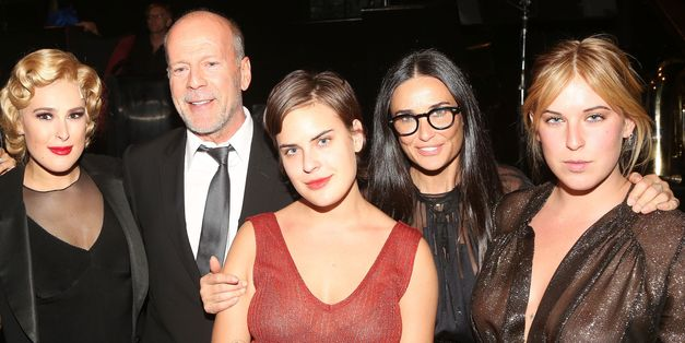 Demi and Bruce Were Proud Parents At Rumer Willis' Broadway Debut
