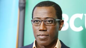 BEVERLY HILLS, CA - AUGUST 13:  Wesley Snipes arrives at the NBCUniversal Press Tour 2015 - day 2 held at The Beverly Hilton Hotel on August 13, 2015 in Beverly Hills, California.  (Photo by Michael Tran/FilmMagic)