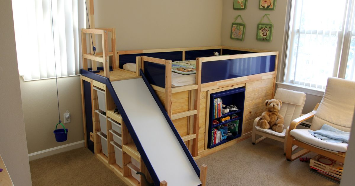 One Dad Hacked Ikea To Make The Ultimate Kids 39 Bed On The