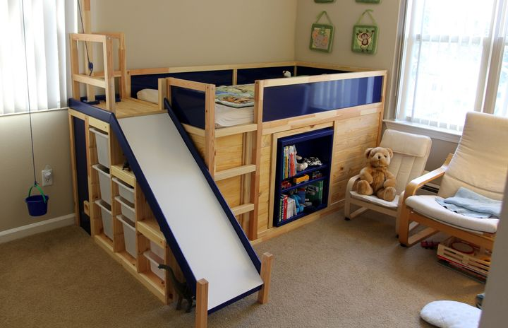 One Dad Hacked Ikea To Make The Ultimate Kids Bed On The