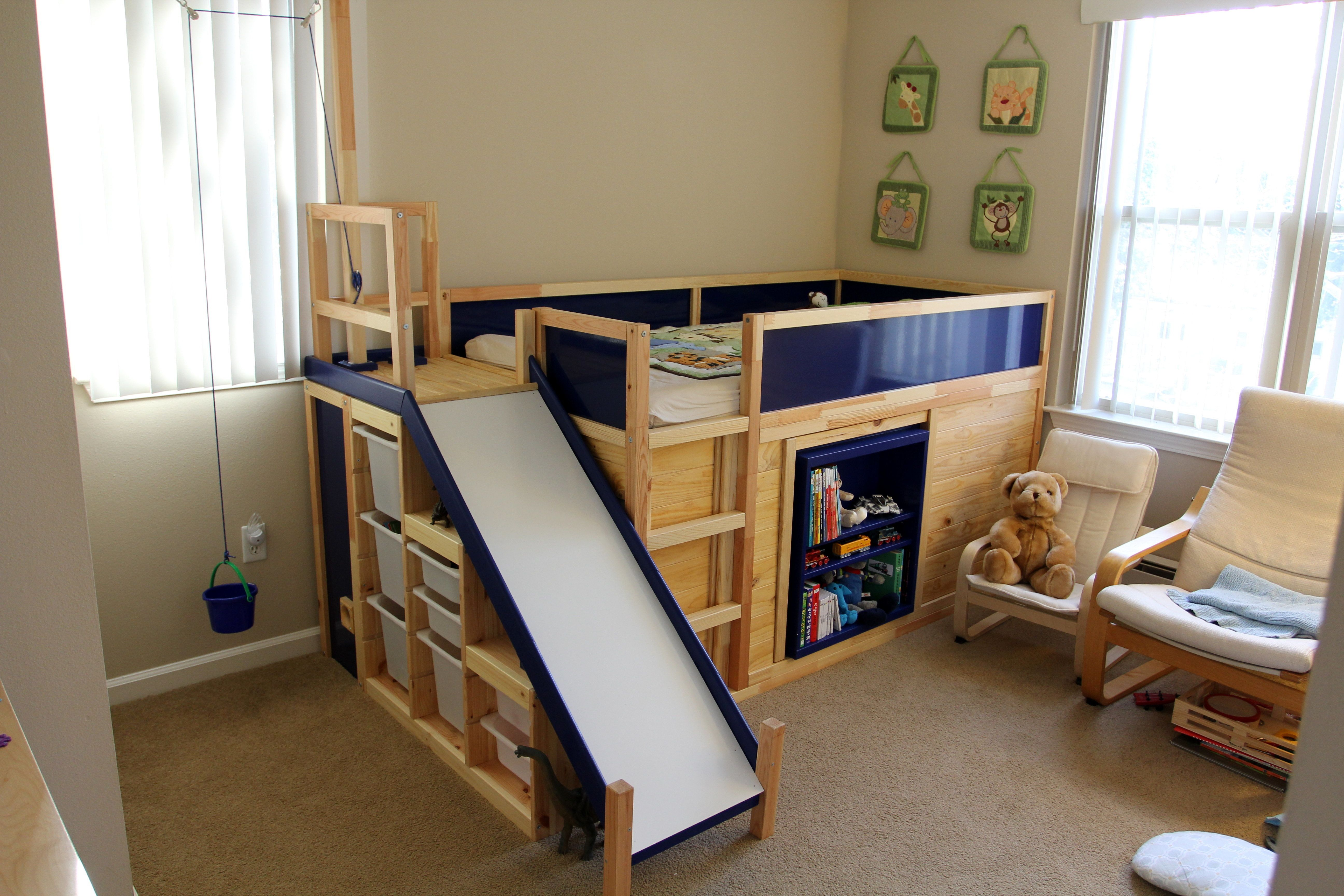 one dad hacked ikea to make the ultimate kidsu0027 bed on the cheap huffpost